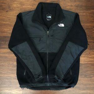 Classic Black North Face Denali Jacket Medium
